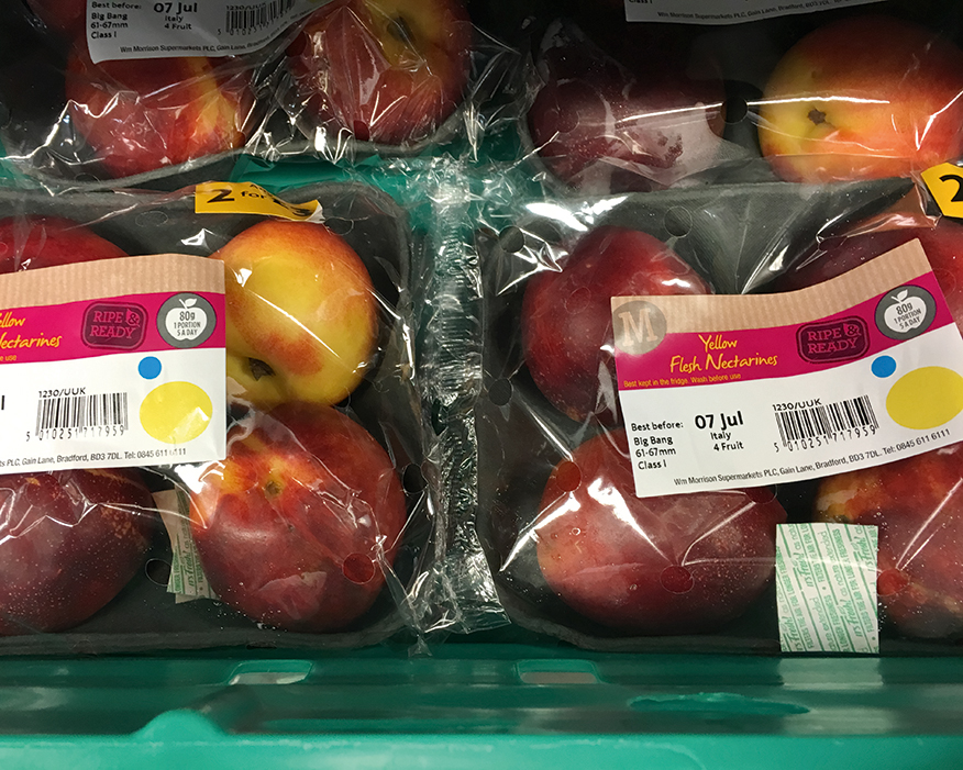 Materials science can improve food freshness. Photograph: It's Fresh!
