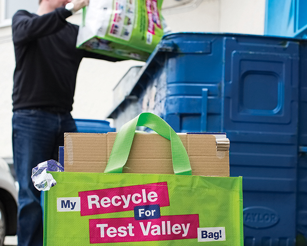 Multi-trip bags have helped simplify collection (photograph: Cromwell Polythene)