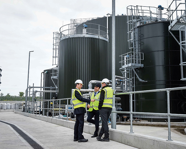 The UK has almost 600 operational AD plants. Photo:Biogen