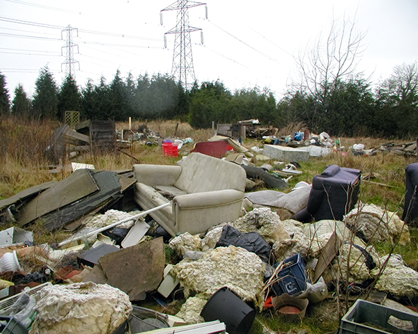 Fly-tippers are costing taxpayers £57m a year. Photo: CIWM