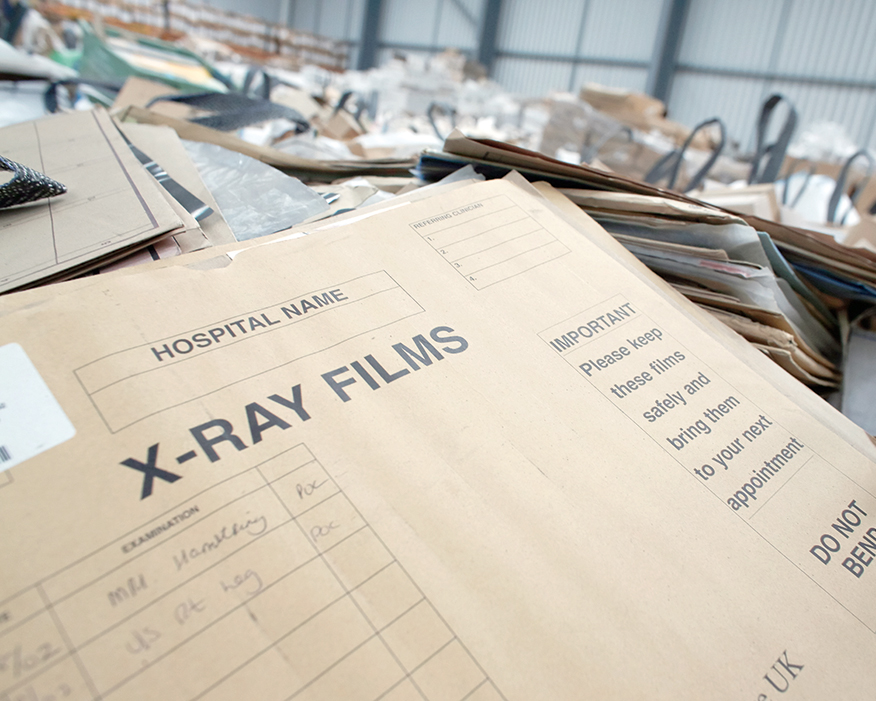 Old X-rays have become more valuable. Photograph: Betts Envirometal