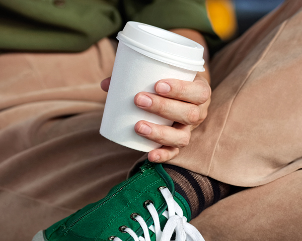 Just two plants in the UK can recycle paper cups (photograph: Boumenjapet/123RF)