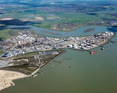 Coryton: rechristened as Thames Enterprise Park (credit: Vopak)