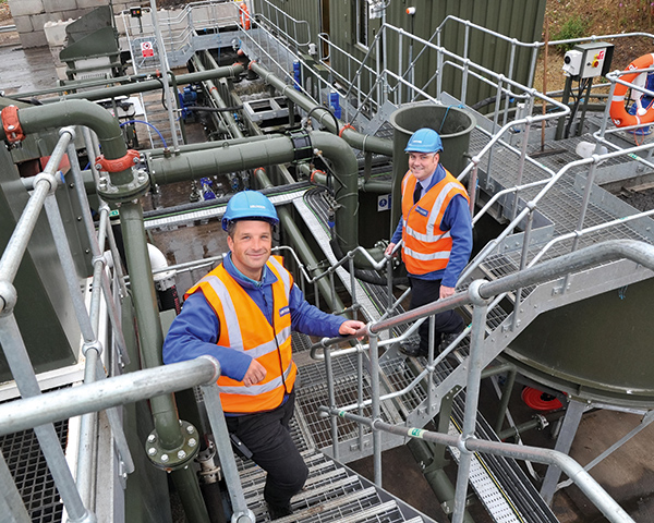 Purpose-built facility in Ewelme can process 25,000 tonnes of road sweepings a year. Photograph: Grundon