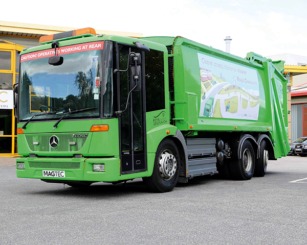 Truck trials will test viability of the technology. Photograph: Magtec