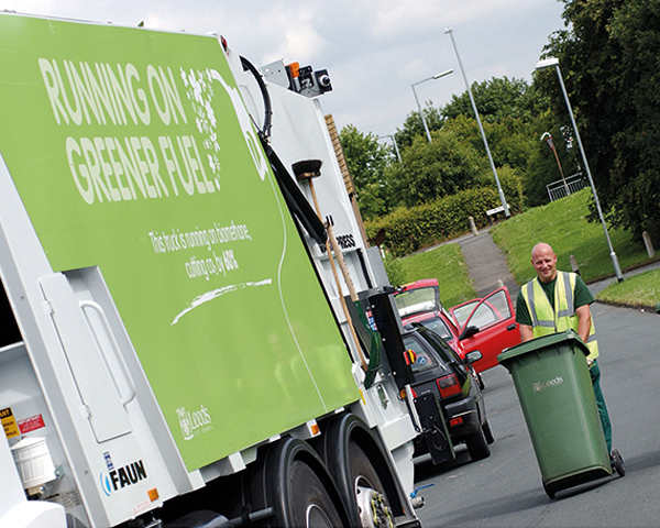 Leeds Bins app is improving collection rates (photograph: Leeds City Council)