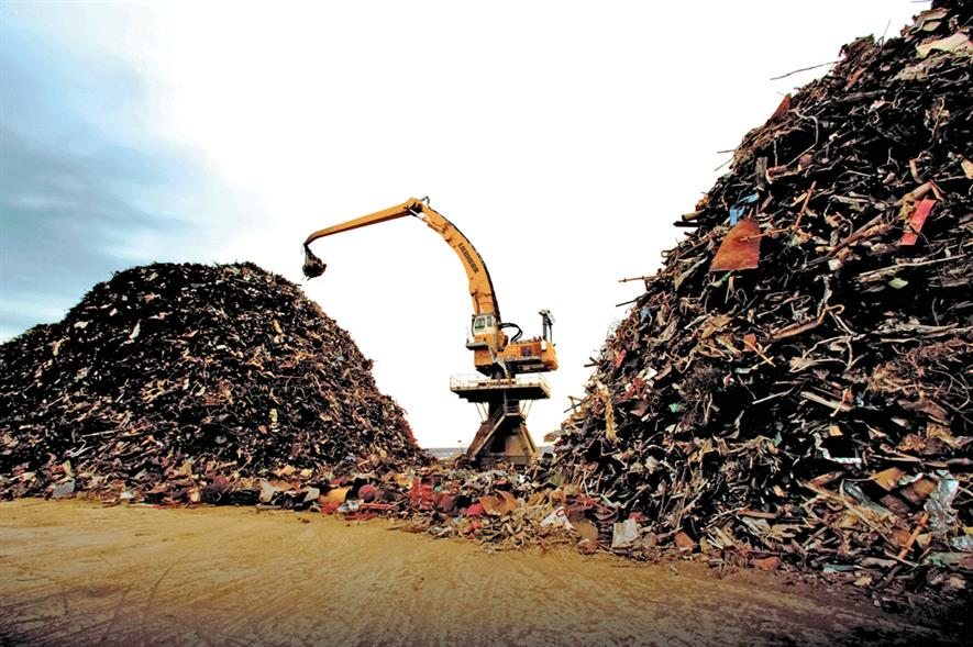 Metal recycling has grown in volume and scope. Photo:EMR Group