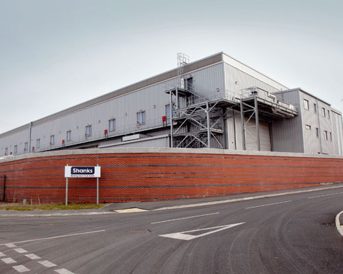 Shanks Group opened an MBT plant in Cumbria. Credit: Shanks Group