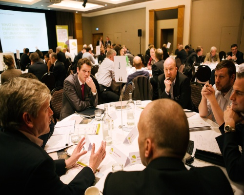 AD and hospitality chiefs hosted a conference with workshops this month. Picture: ADBA