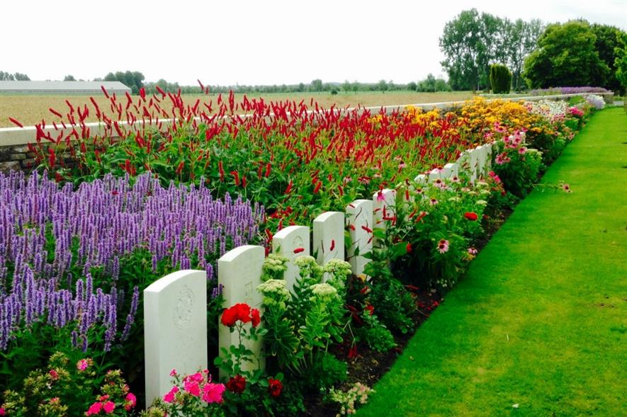 Bedford House Cemetery in Belgium is one of 23,000 locations cared for by the CWGC. Image: CWGC