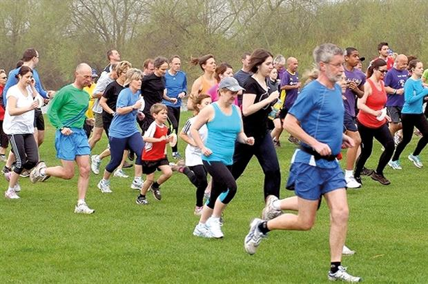 Parkrun: encourages people to exercise and be part of community activities Image: Parkrun