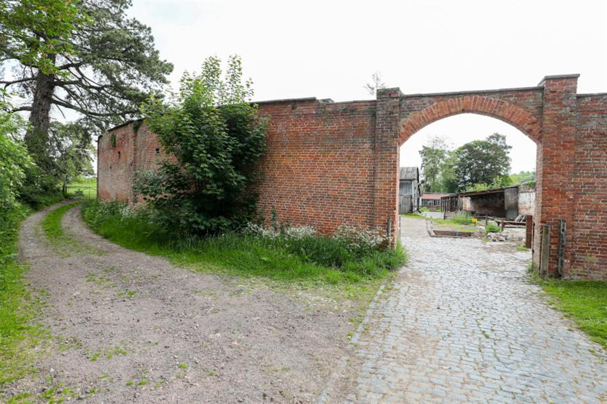 The Berrington Hall curved wall garden restoration project - credit: National Trust