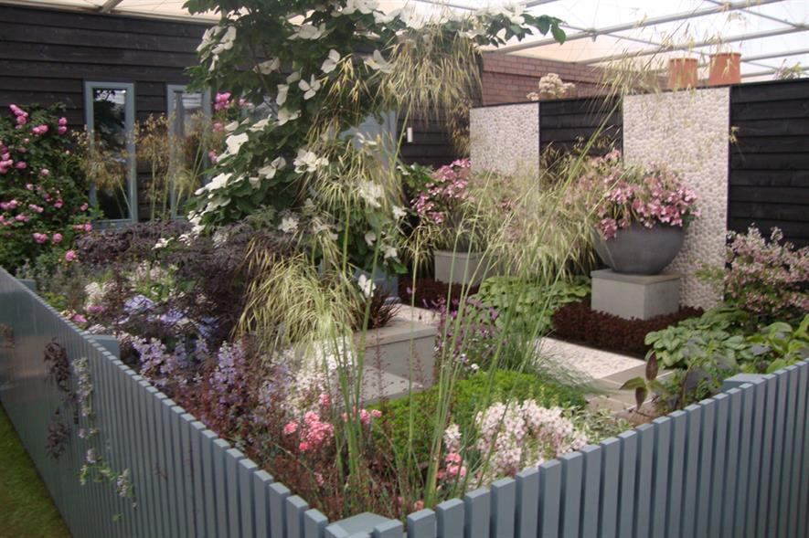 John Woods: 'Upwardly Mobile' show garden was featured at Chelsea