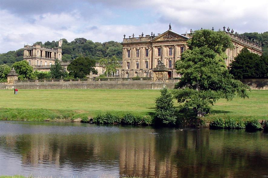 Chatsworth: site for new show. Image: Morguefile