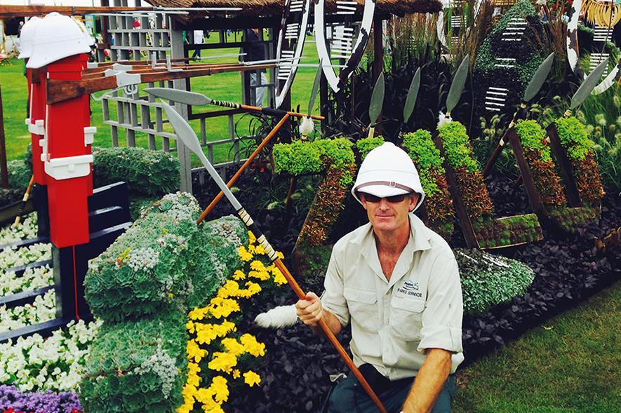 Lewis: 'Zulu' garden won best in category for Preston at Tatton Park