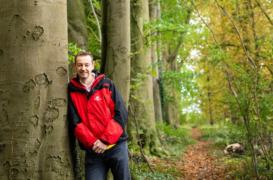 Woodland Trust CEO Dr Darren Moorcroft - credit: Woodland Trust