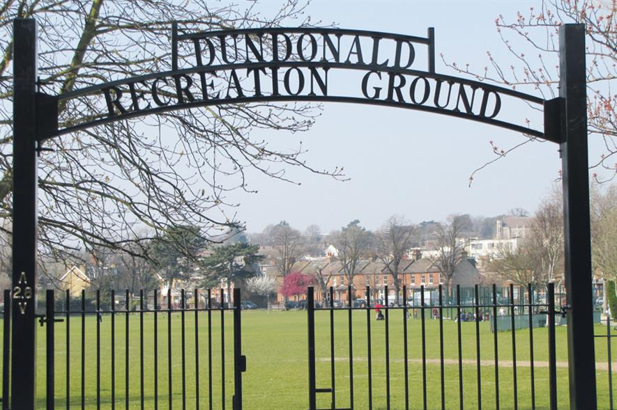 Dundonald Rec: green space loss