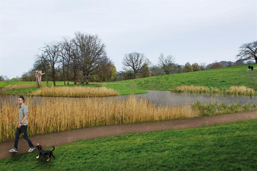 Model Boating Pond: City of London aiming to strengthen defences - image: City of London Corporation