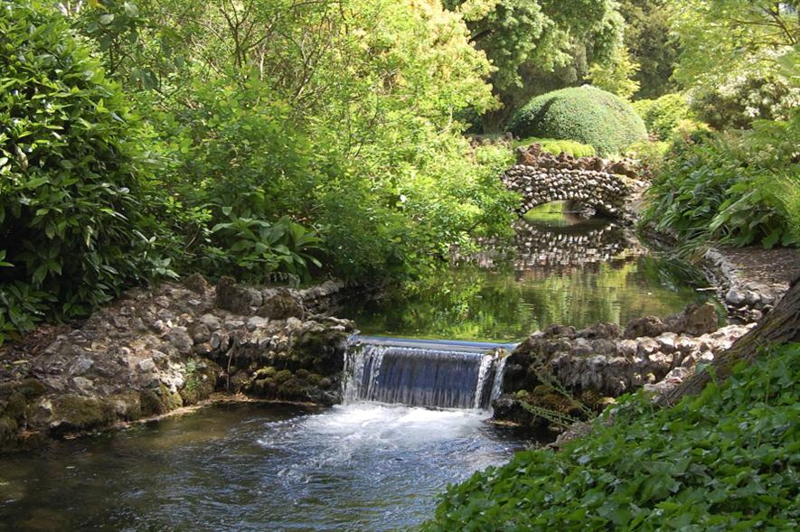 West Dean Gardens, Spring and Woodland gardens