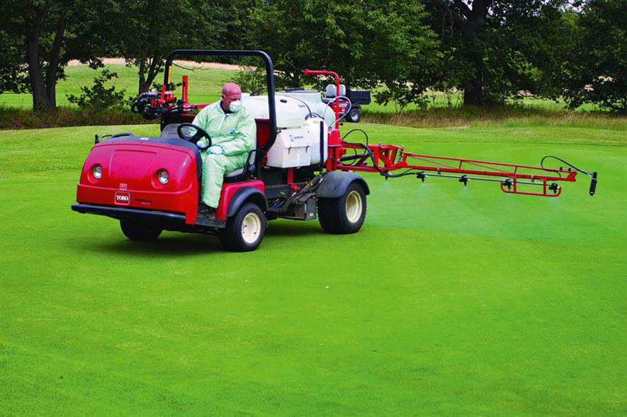 Spraying: pesticide use has been reduced by 88 per cent in Denmark as a result of government directive