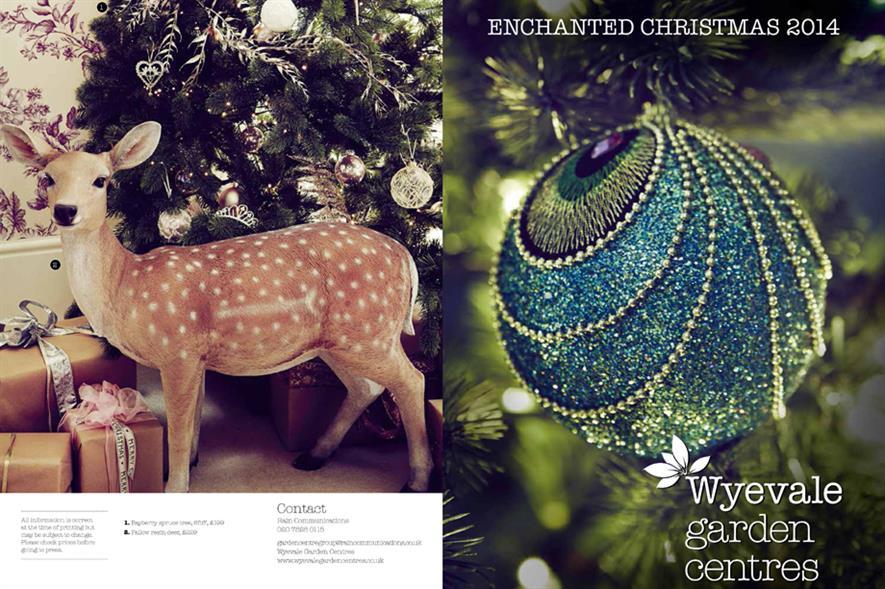 Wyevale: Christmas showcase - image: Wyevale Garden Centres