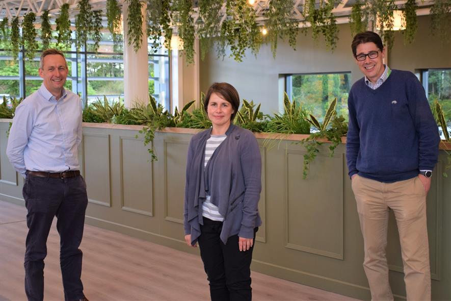 Tong Directors Charlie Barker, Sharon McNair and Mark Farnsworth - credit: Tong Garden Centre