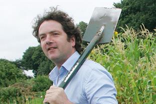 Diarmuid Gavin, garden designer - image: HW