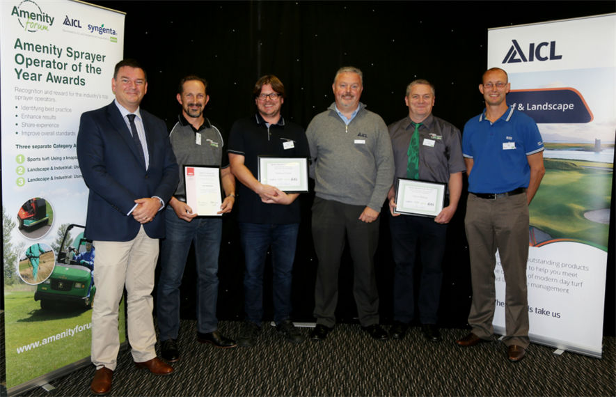 The winners with sponsors at Thursday's event. Image: The Amenity Forum