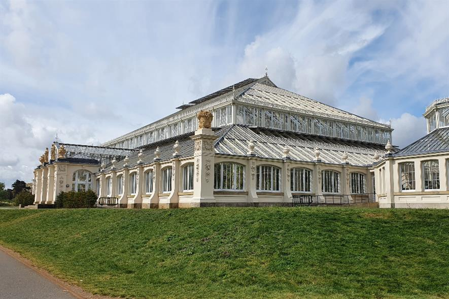Visitors are being welcomed back to indoor attractions such as Kew's iconic Temperate House - credit: HW