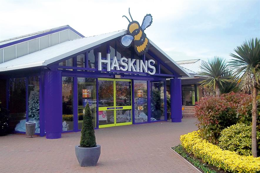 Haskins West End: garden centre opened in 1996 and major investment delivered significant improvements in 2012 - image: Haskins West End
