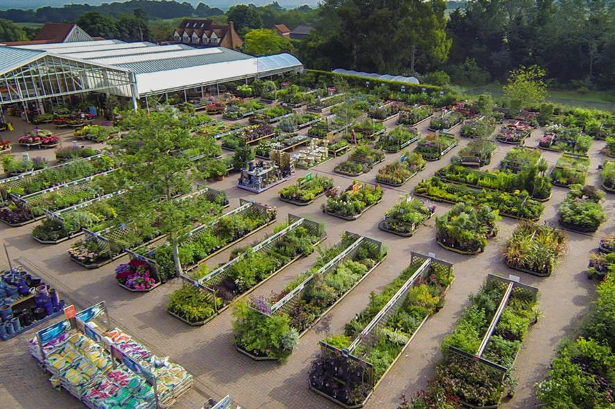 Perrywood: a 7,000sq m nursery production area is used to produce some 250,000 plants a year for sale in the 10,000sq m garden centre - image: Perrywood