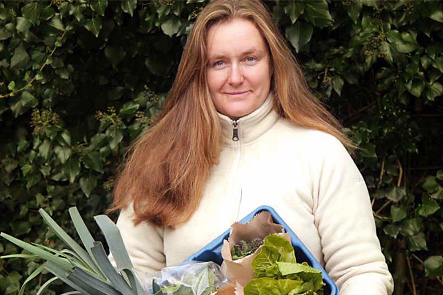 Mudhar: produce for members. Image: Oak Tree Low Carbon Farm