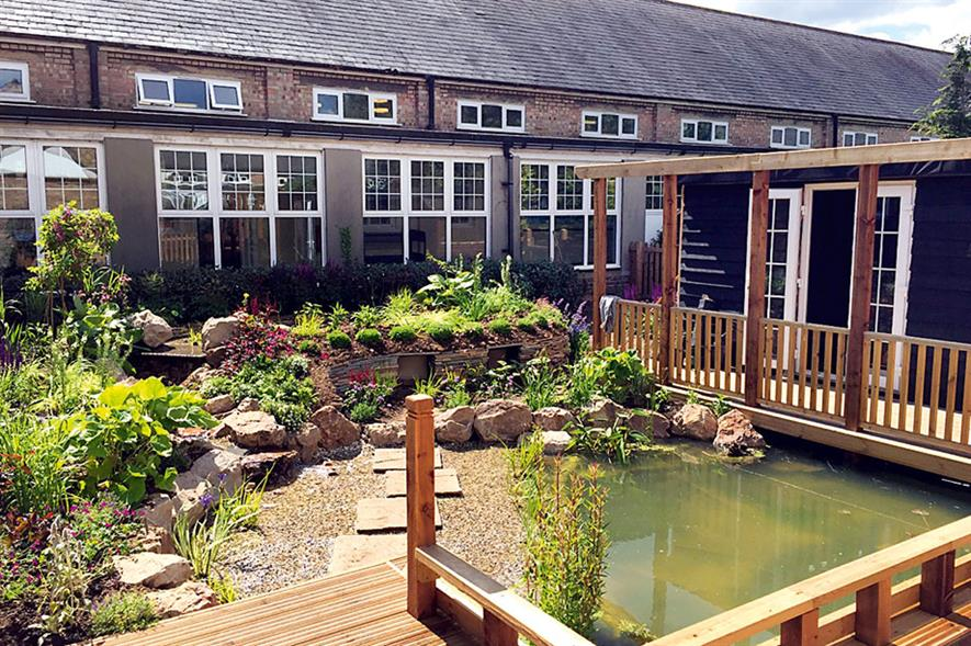 Hard landscaping: Writtle College working with Oak View Nursery to alter its courses for apprentices