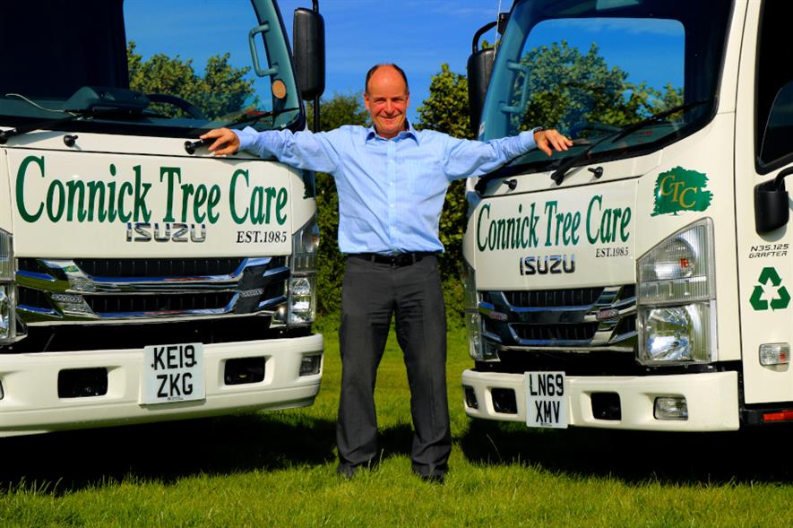 Connick Tree Care director and founder Mike Connick - credit: CTC