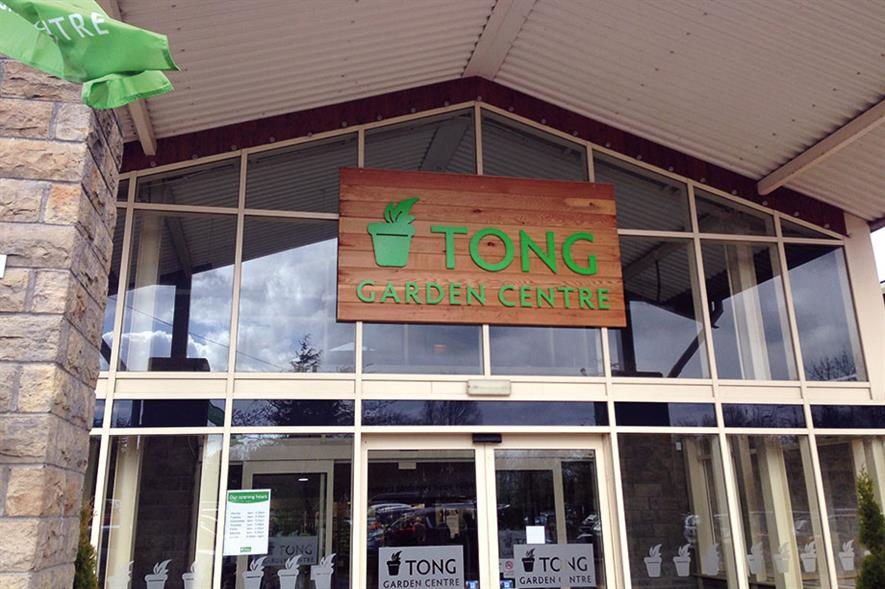 Tong Garden Centre: 7ha site refurbished and remerchandised by the new owners