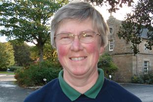 Susan Russell, head gardener, Culzean Castle, Ayrshire - image: HW