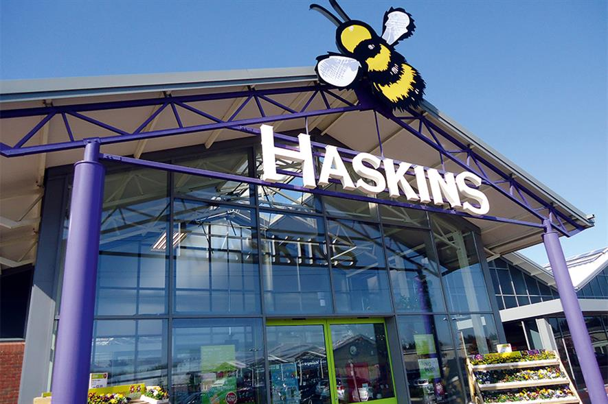 Roundstone: garden centre was purpose-built in 2012 after being bought by the Haskins group in 2000 - image: HW