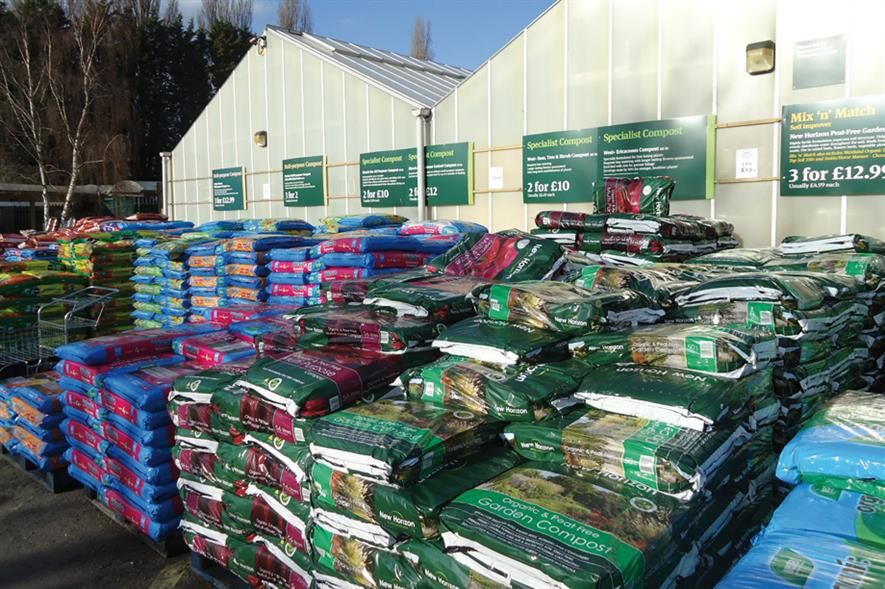 Growing media: garden centres facing Government target of 2020 by which to eliminate peat from all retail products