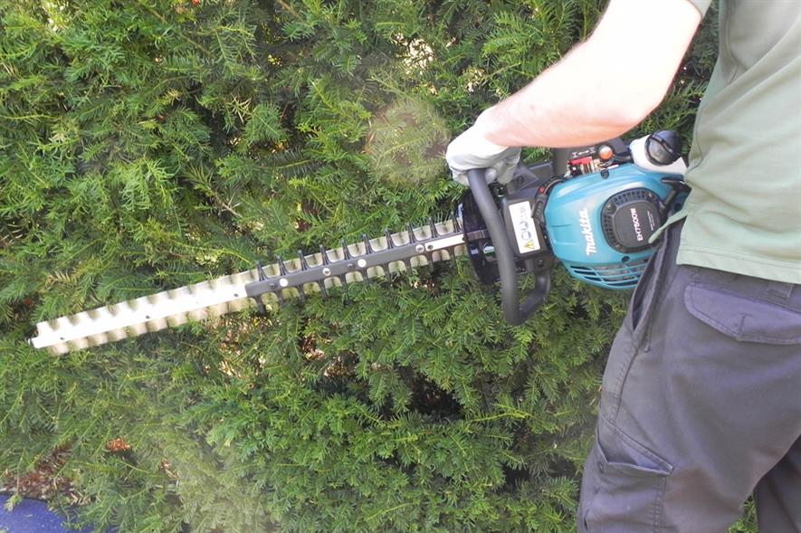 Makita EH7500W hedgetrimmer -image: HW