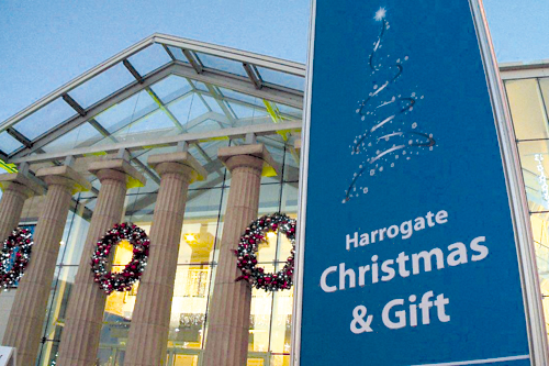 Harrogate Christmas & Gift: show aimed at independent retailers, mail-order buyers, garden centres and department stores - image: HC&G