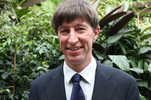 GCA president elect and Garden Centre Group regional manager Peter Burks - image: GCA