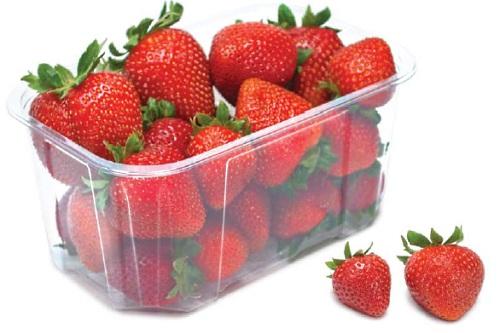 Holfeld Plastics' G81 PET soft fruit punnet - image: Holfeld Plastics
