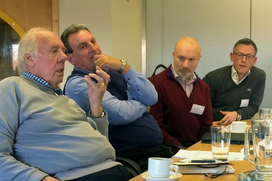 Bowen, Willey, Rose and Fedden advise growers at the AHDB Horticulture workshop - image:HW