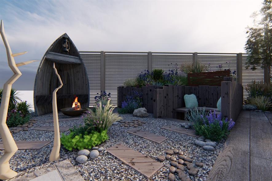 Teasels Landscapes concept by Chasing Arcadia Garden Designs - image: APL