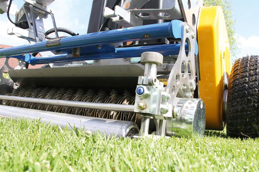 Contender: Advanced Turf Technology 26in INFiNiSystem, marketed by The Grass Group