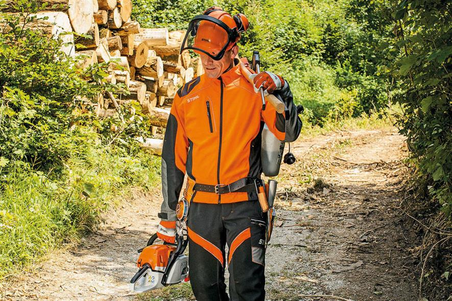 Advance XFlex: trouser co-ordinates with choice of work jackets across Stihl PPE range - image: STIHL UK