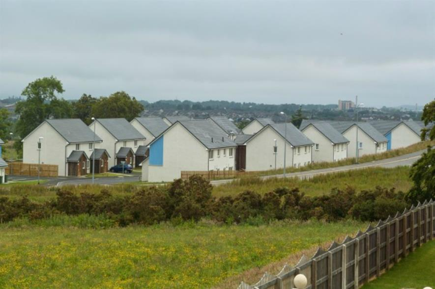 Affordable housing Inverness. Image: Copyright E Sandland/Creative Commons/Geograph
