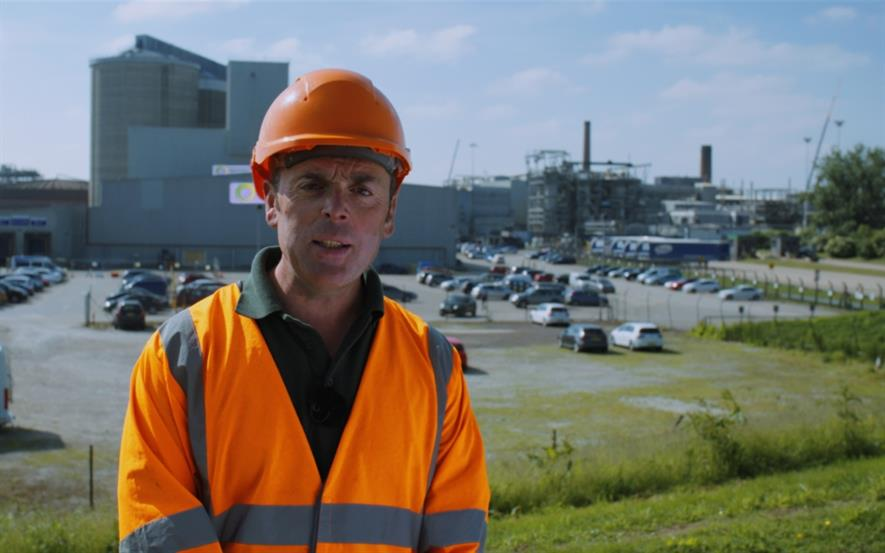 Andy Spetch at British Sugar Topsoil's Wissington plant in Norfolk. Image: British Sugar Topsoil