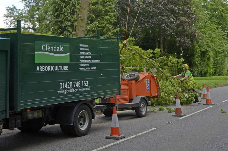 Glendale was ranked in first place in Horticulture Week's Top 30 Arboriculture Businesses 2020 - credit: Glendale