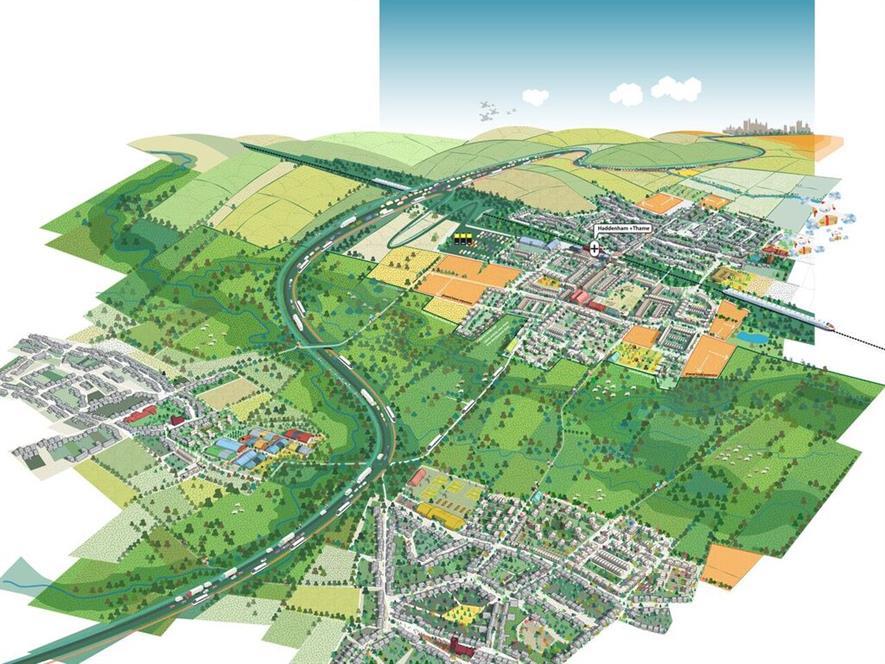 Visualisation of the 'archipeligo' concept. Image: Fletcher Preist Architects